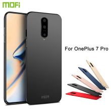 MOFi For OnePlus 7 Pro Back Cover Case Full Protection Hard Fundas Phone Cases Shell For OnePlus 7 Pro Cover