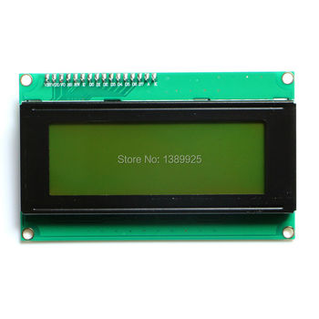 10 unids placa LCD 2004 20*4 LCD 20x4 5 V IIC/I2C/TWI amarillo -pantalla verde LCD2004 módulo LCD