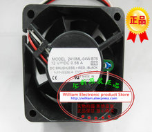 New Original NMB 2410ML-04W-B76 DC12V 0.58A 60*60*25MM 6CM intelligent temperature control cooling fan