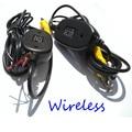 2.4 ГГц Беспроводной Комплект Автомобиля RCA Видео Передатчик и Приемник для Подключения RCA беспроводные Камеры Заднего вида и DVD Плеер монитор