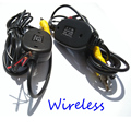 2.4Ghz Wireless Kit Car RCA Video Transmitter and Receiver to Connect RCA wireless Rear View Camera and DVD Player Monitor