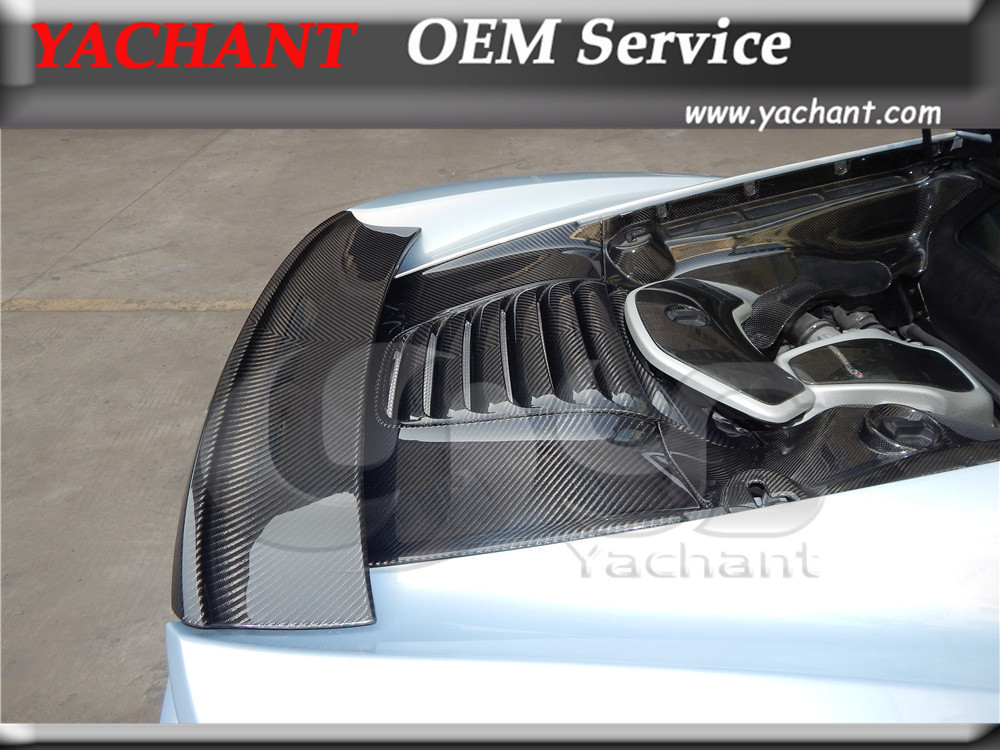 Carbon Fiber Trunk Cover Fit For 2011-2014 MP4 12-C 650S