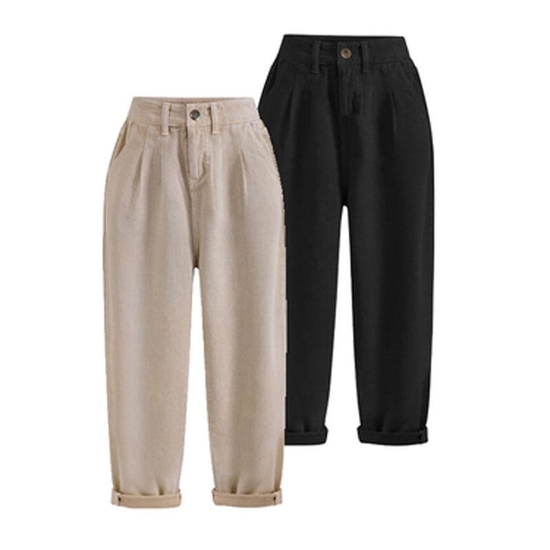 European Style 2019 Spring Summer Women Trousers Plus Size XL- 5XL Female   Capris   Anklet-Length   Pants   Casual Harem Brand   Pants