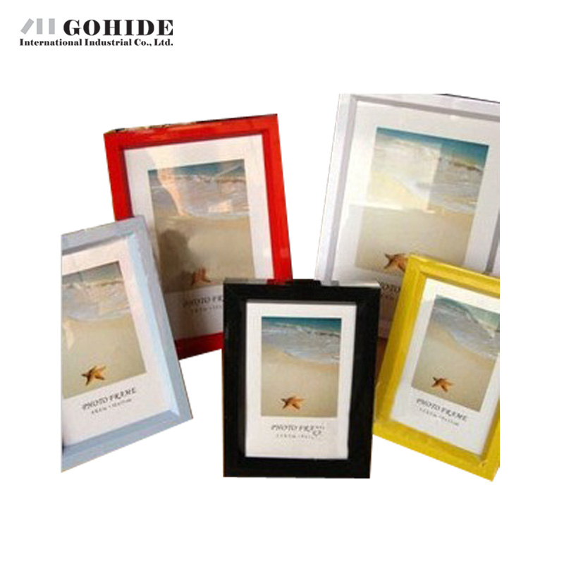 gohide cheap wooden photo frame personalized hanging vertical desktop wood photo album wall strick more than