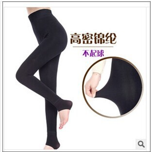 Free shipping Add velvet leggings pilling resistance increasing Show thin nylon high waist and buttock lambs wool warm leggings