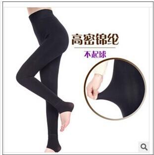Frete grátis Adicionar veludo leggings pilling resistência crescente Mostram fina de nylon cordeiros lã quente leggings de cintura alta e nádega