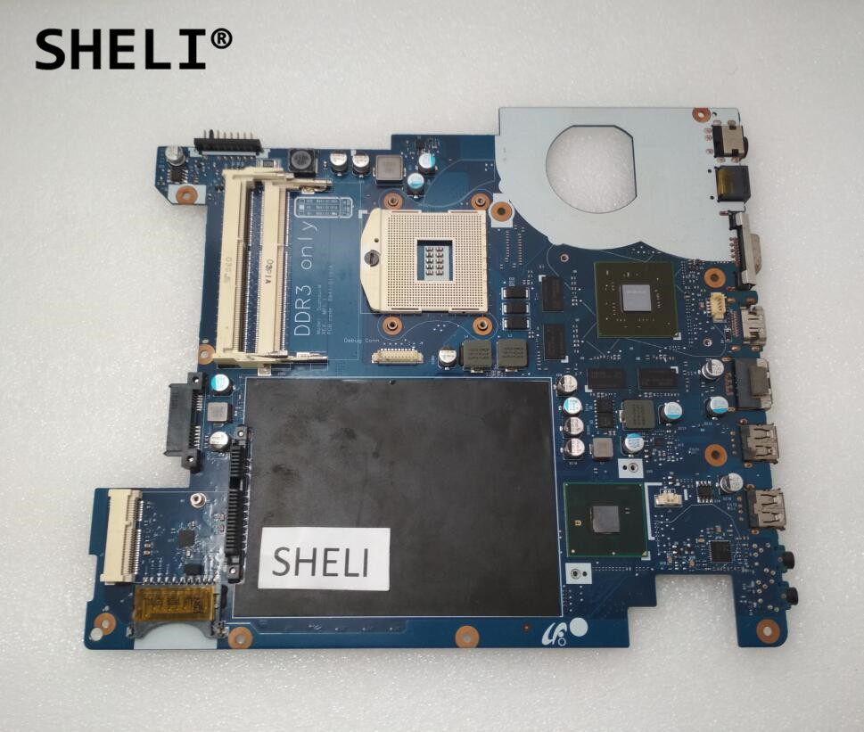 SHELI For Samsung R429 R478 Motherboard with GT330M Video Card BA92-06021BSHELI For Samsung R429 R478 Motherboard with GT330M Video Card BA92-06021B
