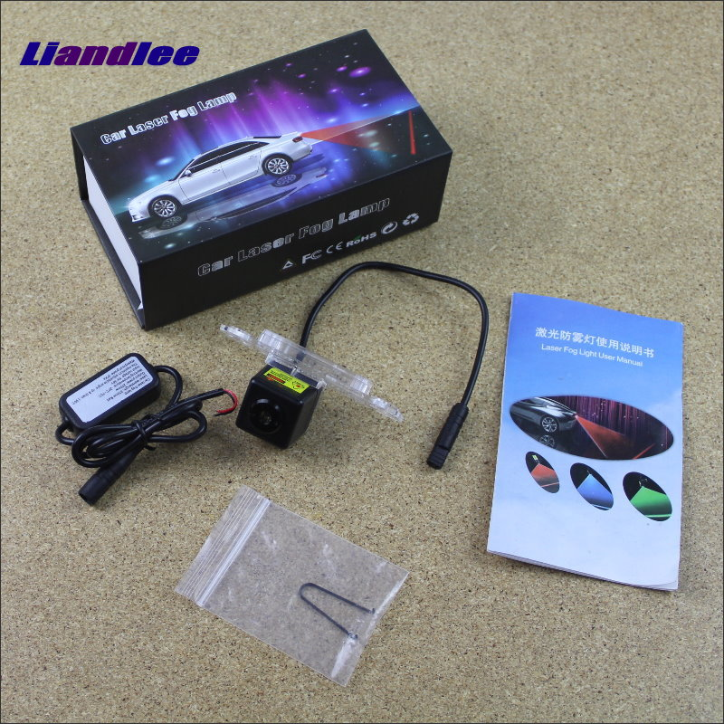Liandlee Car Light For Volvo C70 V70 XC 70 XC70 2006~2015 Laser Shoot Lamp Prevent Warning Lights Fog Tail Decorative Light пламенный мотор машинка инерционная volvo пожарная охрана