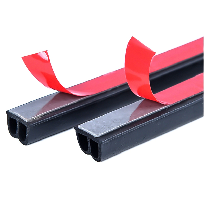 Image 4 - Car Accessories Door Rubber Seal Strips Sticker For Mitsubishi Asx Lancer 10 9 Outlander 2013 Pajero Sport L200 Expo Eclipse-in Car Stickers from Automobiles & Motorcycles