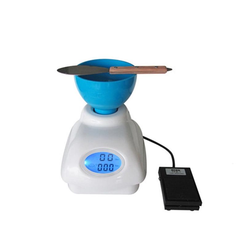 купить Dental Lab Impression Alginate Material Mixer Labor-saving Semi-automatic Alginate Mixer with High-end Food Control & LCD Screen недорого