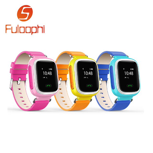 Smart Phone Watch Children Kid Wristwatch  GSM GPRS GPS Locator Tracker Anti-Lost Smartwatch Child Guard for Android Q60 PK Q50