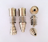 Pure Titanium GR2 E Coil Nail 16mm / 20mm Fit 10mm / 14mm / 19mm Glass Joint