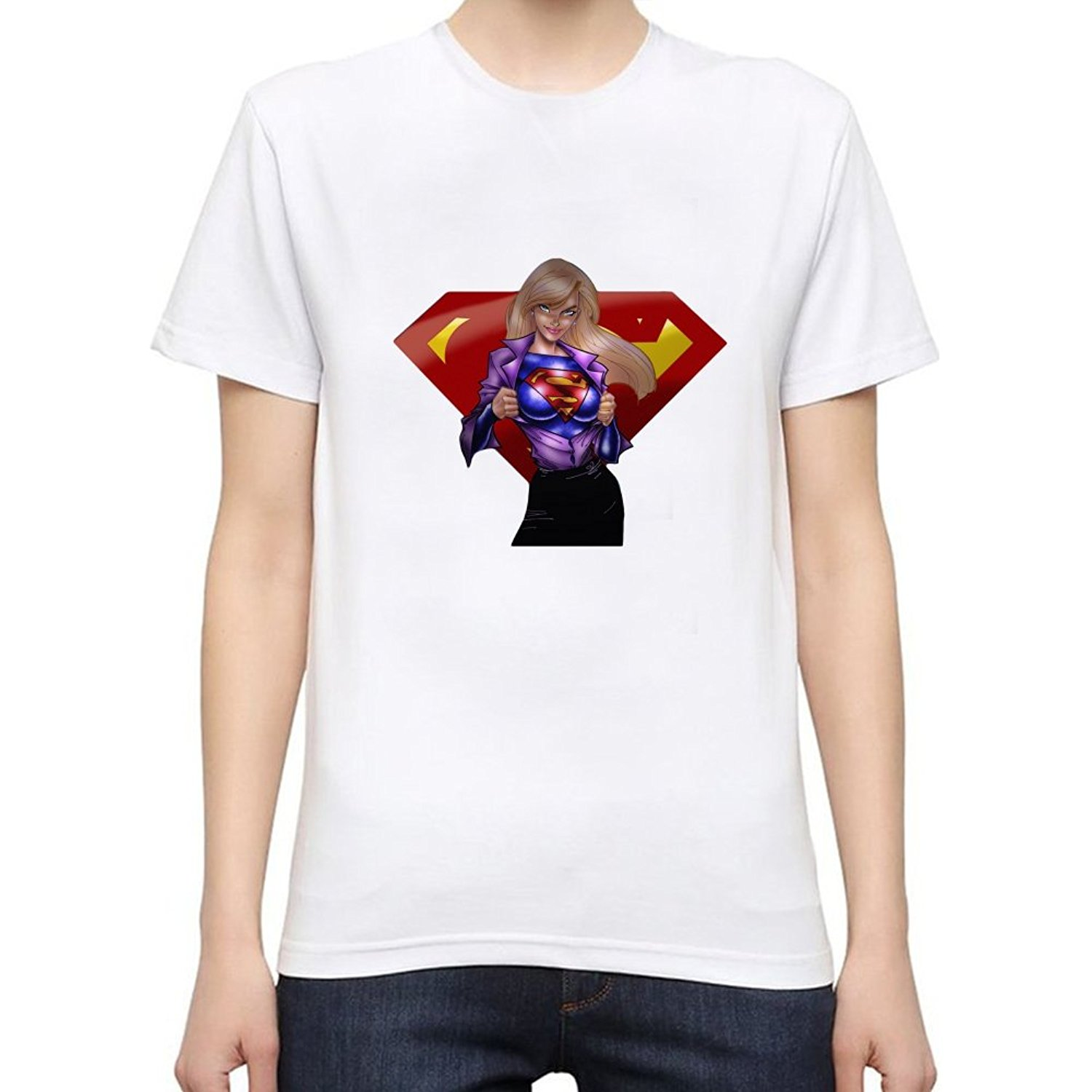 Popular Supergirl T Shirts-Buy Cheap Supergirl T Shirts lots from ...