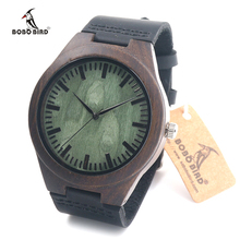 BOBO BIRD Wristwatch Women Luxury Top New Fashion Female Quartz Wood Watches Genune Leather Watch relogio Masculino Feminino