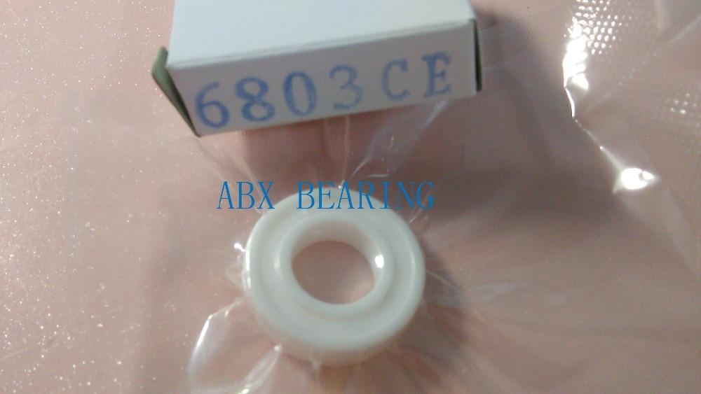 6803-2RS full ZrO2 ceramic deep groove ball bearing 17x26x5mm 61803-2RS 6803 2RS MT bearing, bike bearing 15268 2rs ceramic wheel hub bearing zro2 15268 15 26 8mm full zro2 ceramic bike bearing