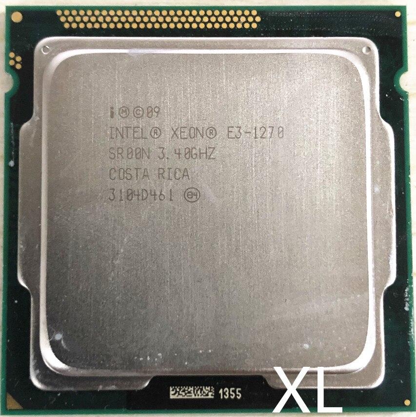 Intel Xeon e3-1270 E3 1270 E3-1270 3.4GHz LGA1155 8MB Quad Core CPU Processor