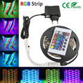 led strip 2835 LED RGB strip light SMD3528 Flexble Light Non Waterproof DC 12V+24key controller RGB strip led flexible strip
