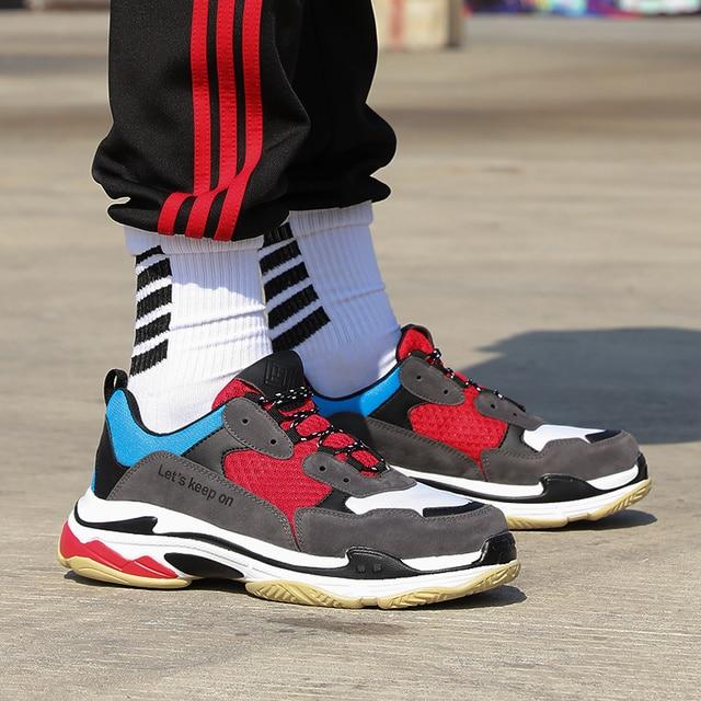 Кроссовки Обувь Унисекс Женская Человек Открытый тапки Весна спортивные кроссовки для взрослых Спортивная Обувь с дышащей сеткой на шнуровке пара