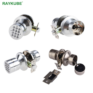 Image 5 - RAYKUBE Knob Electronic Door Lock With Bluetooth Digital Code Door Lock APP Password Keyless Opeing Enter Home