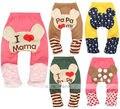 Bonito Calças do Menino Da Criança Do Bebê Meninas Leggings de Algodão Perna Aquecedores Meias Calças PP Presente