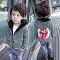 SL-230 2016 Fashion Spring and Autumn Boy Winter Jackets Coats Warm Baby Kids Jacket Children Woolen Coat Outerwear for Boys