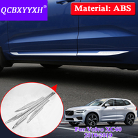 QCBXYYXH Car Styling Molding Door Body Strips Accessories Trim Covers Auto External Decoration Strips For Volvo