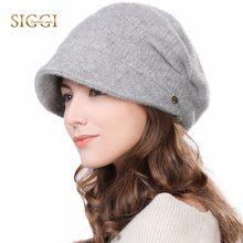 bef8c4a61d6c0 FANCET Winter Newsboy Caps For Women Solid Wool Acrylic Visor Beanies Cap Berets  Warm Fleece Fashion Cold Weather Hats 99139