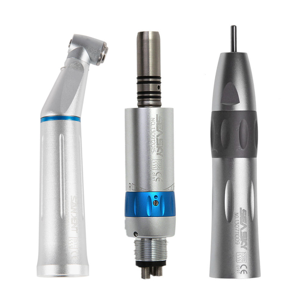 KAVO Style Dental Low Speed Handpiece Kit LED Contra Angle Air Motor 4H THY4