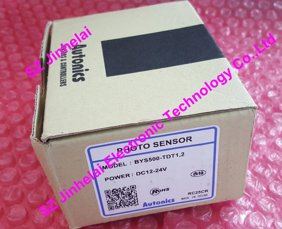100% New and original BYS500-TDT1,2 AUTONICS  PHOTOELECTRIC SWITCH   DC12-24V 100% new and original bx15m tdt t autonics