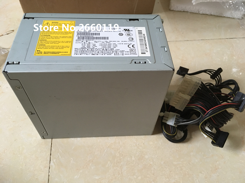 100% Working For 442036-001 440859-001 DPS-650LB A 650W Power Supply Full Test high quality power supply for dl140g3 tdps 650cb a 440207 001 409841 002 650w working well