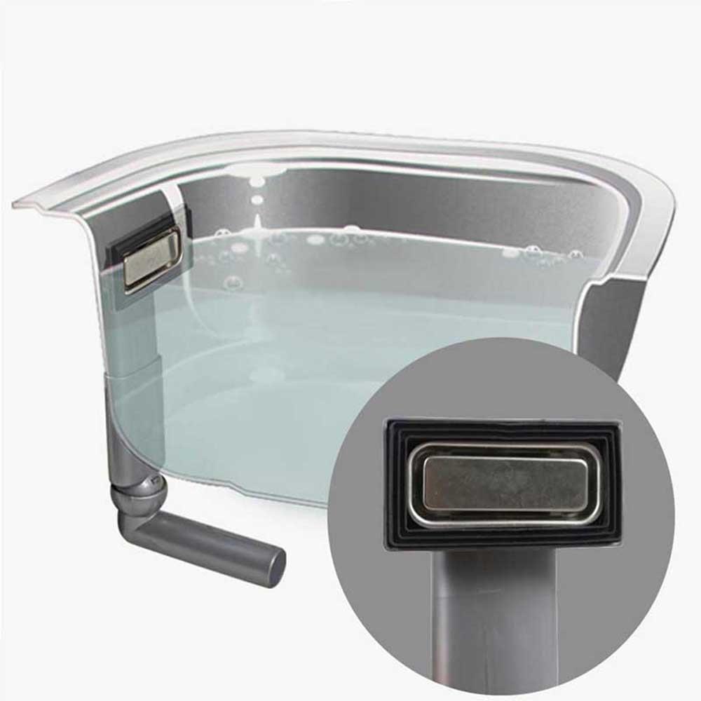 Talea no leakage sink accessories Rectangular upside overflow joint ...