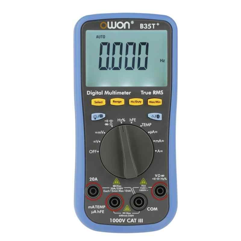 B35T + цифровой мультиметр True rms Bluetooth Вольтметр Амперметр Омметр ом измеритель