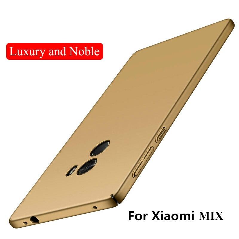 Para Xiaomi Mi Mix 2 3 Funda de lujo Utral Thin Matte Hard PC Fundas - Accesorios y repuestos para celulares - foto 2