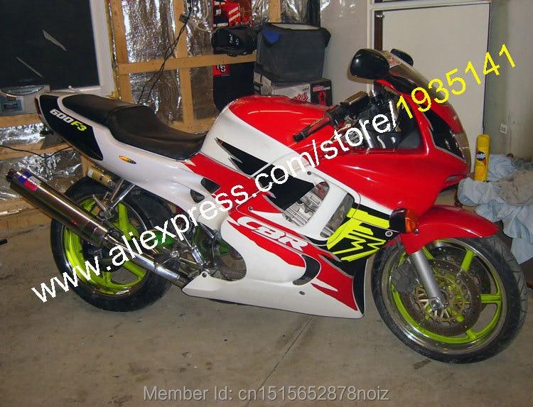 Hot Sales,CBR F3 Kit For Honda CBR600 F3 95 96 CBR 600 1995 1996 Classics Multi Color Motorcycle Fairings (Injection molding)