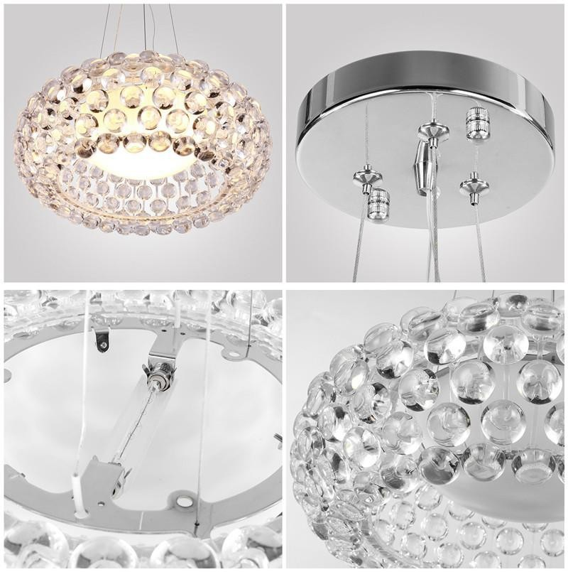 Günstige Fluoreszierende Halogen LED Glühlampen Anhänger Lampen Beste 1 ~ 2  Pendelleuchte Ionen Kronleuchter