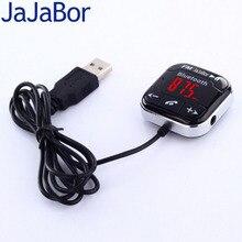 JaJaBor Автомобильный Комплект Bluetooth Аудио Приемник Handsfree Магнитное Основание С Dual USB Автомобильное Зарядное Устройство Автомобильный MP3 AUX Аудио Кабель Передатчик