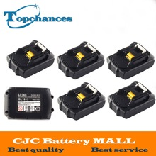 6X High Quality 18V 2000mAh Rechargeable Li-ion Replacement Power Tool Battery for Makita BL1830 BL1840 LXT400 BL1815 194230-4