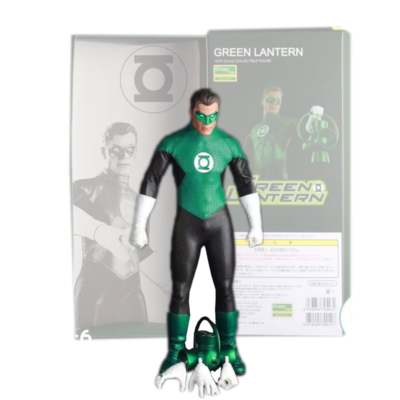 30cm Crazy Toys Green Lantern Variant PVC Action Figure Parallax Hal Variable Collectible Model Toys Brinquedos Free Shipping