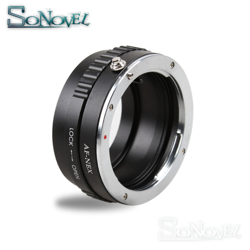 AF-NEX Mount Adapter For Sony Alpha Minolta AF lens to Sony E mount NEX adapter A7 A7R NEX-5T NEX7 A5000 A6000 A6300 A6500 A3500 sony nex vg30e