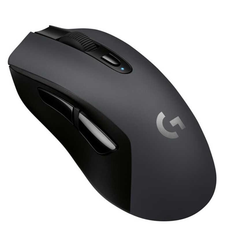 Logitich G603 ワイヤレスゲーミングマウスライトスピード光学 12000 dpi Pc のラップトップ用の Bluetooth マウス人間工学公式代理店テスト