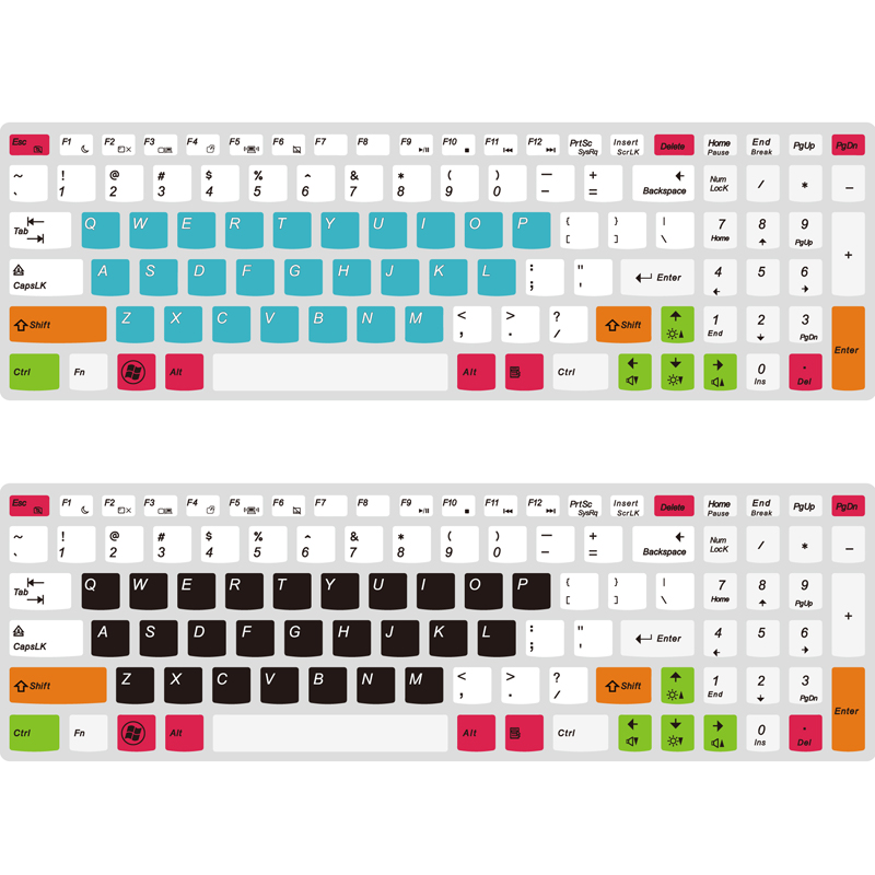 US $4 39 |Laptop Keyboard cover for Lenovo Y50C FLEX 3 15 E50 70 E51 80  Y700 15 silicone waterproof keyboard protecor-in Keyboard Covers from  Computer