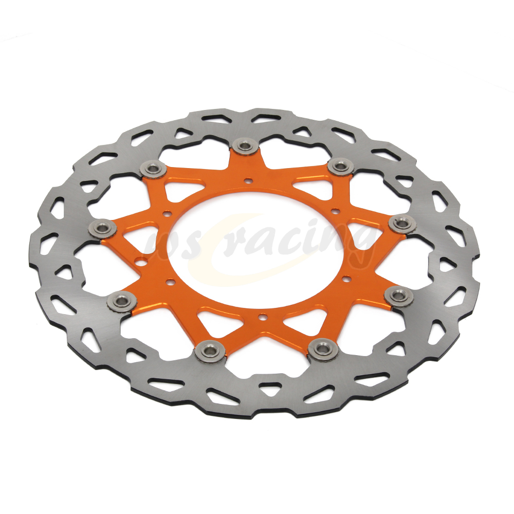 все цены на CNC 320MM Motorcycle Front Floating Brake Disc Rotor For KTM LC4 620 98-04 LC4 625 02 SXC625 03-08 LC4 640 98-99 DUKE II 640
