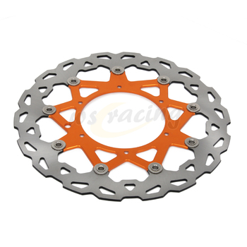 CNC 320MM Motorcycle Front Floating Brake Disc Rotor For KTM LC4 620 98-04 LC4 625 02 SXC625 03-08 LC4 640 98-99 DUKE II 640