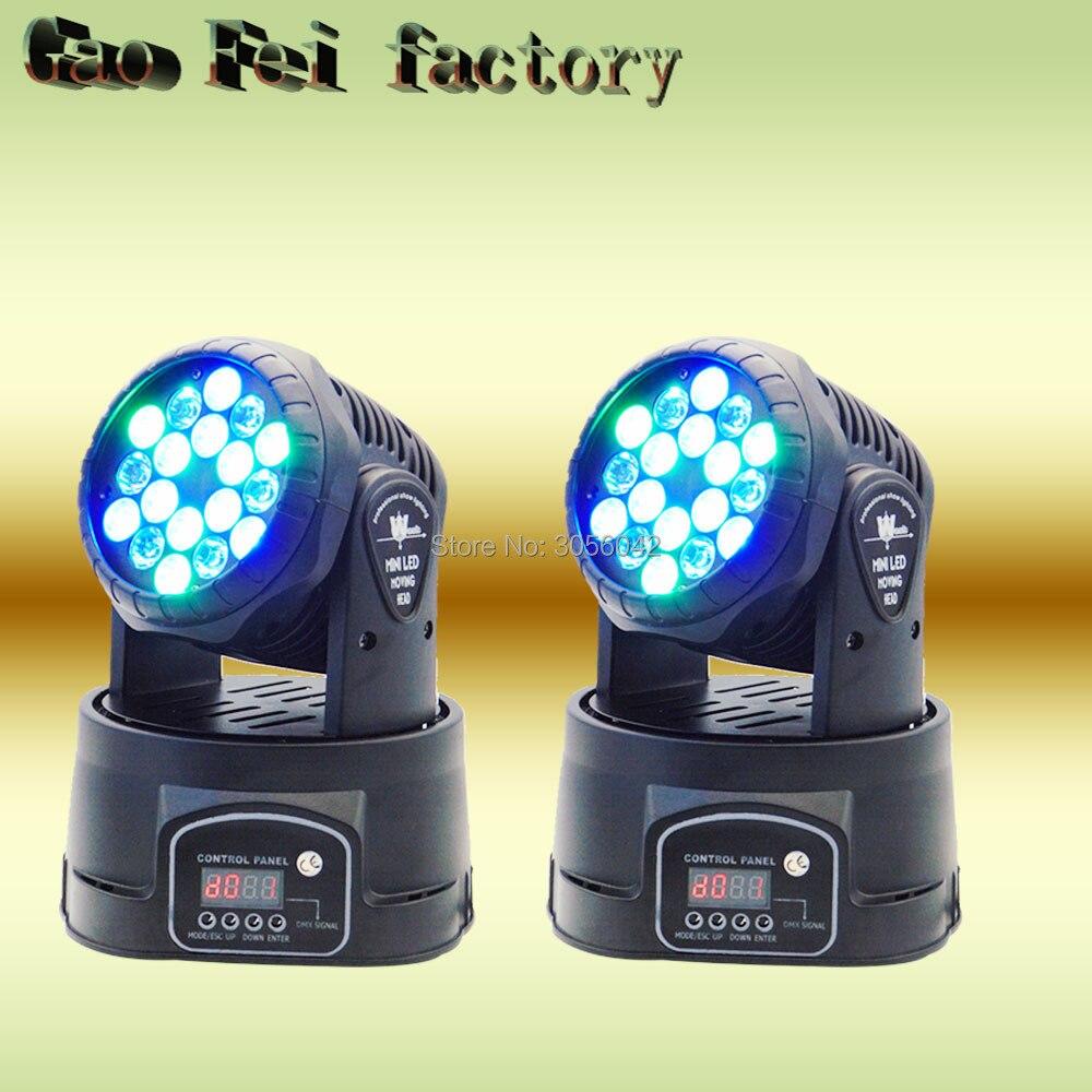 2pcs/lot Mini DMX Dj Disco Stage Effect Fixture 60W RGB Color Wash Light 2pcs lot mini tongue