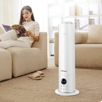 220V 2 Color Available Air Purifier Humidifier 9L Aromatherapy Oil Function Household Constant Humidity Air Humidifier EU/AU/UK