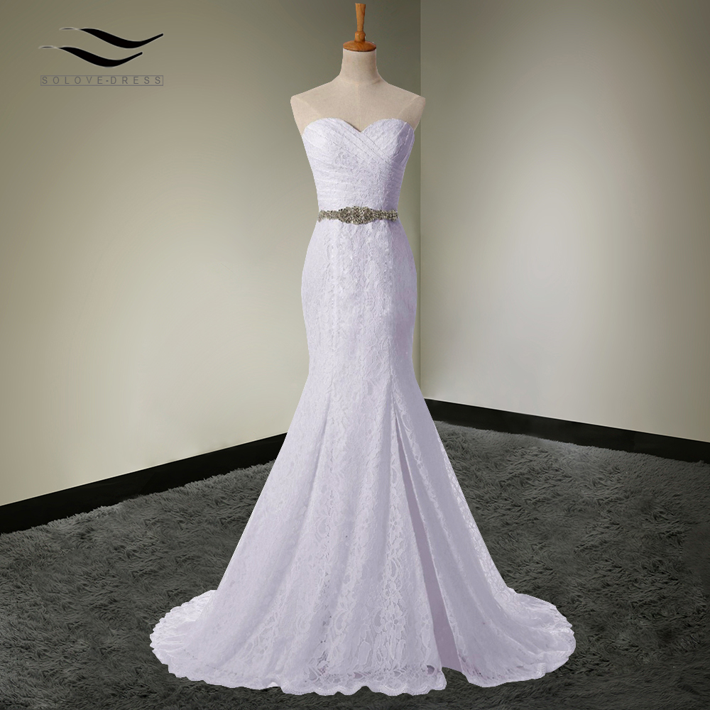 Aliexpress.com : Buy Solovedress Elegant Bridal Gown Real