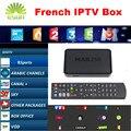 Mag250 Sistema Linux IPTV caixa Com Neotv QHDTV Francês IPTV arábica IPTV Set Top Box Processador STi7105 RAM MAG 254 Media player