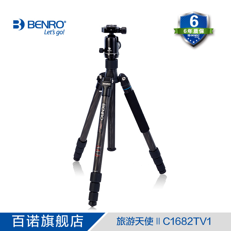 New Benro C1682TV1 Carbon Ttipod Kit 14kg  Max. Load Monopod 6 years warranty free shipping цена и фото