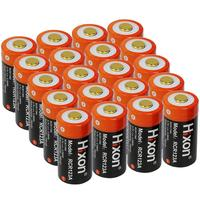 20pcs UL Certified 700mAh 3.7V RCR123A (CR123A rechargeable) PCB protected batteries for Arlo HD Cameras and Reolink