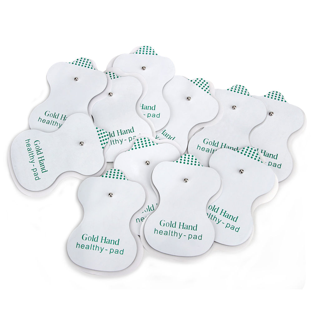 Health Care Electrode Pads for Tens Acupuncture Therapy Pad for JR309 Slimming Electric Body Machine Massager Adhensive Gel Pad electrical stimulator health care full body relax muscle therapy massager pulse tens acupuncture with slipper 8 pads jr 309